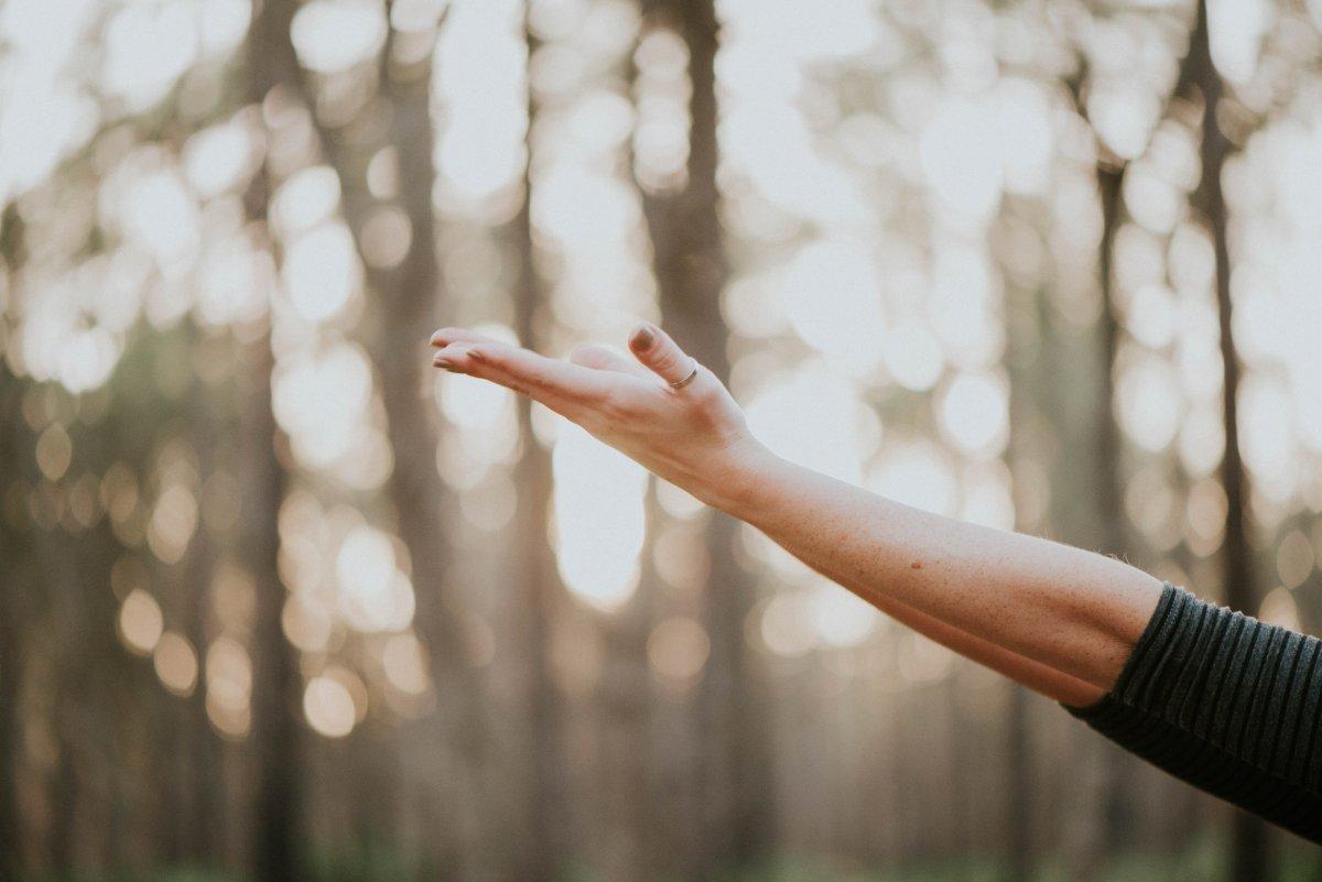 Jocelyn Jones Practising Yoga